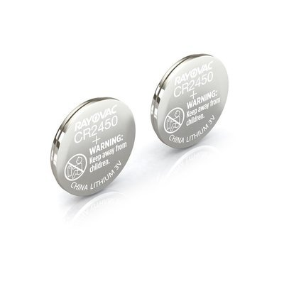 #CR2450 Lithium Coin Cell Battery Rayovac 2 Pack