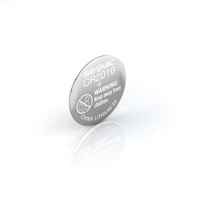 #CR2016 Lithium Coin Cell Battery Rayovac