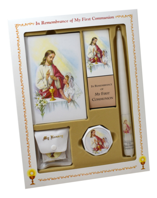 FIRST MASS BOOK (CATHEDRAL) (DELUXE SET)