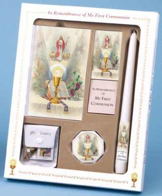 FIRST MASS BOOK (COME MY JESUS) DELUXE SET