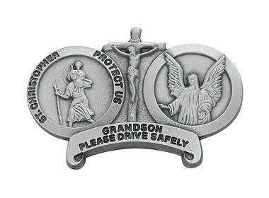 ST CHRIS GRANDDAUG VISOR CLIP