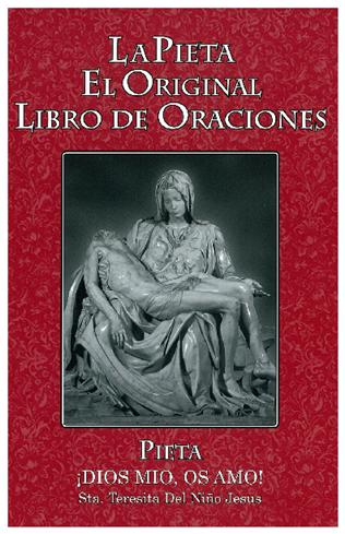 Pieta Libro de Oraciones- Large Print Red