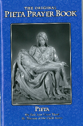 The Pieta Prayer Book - Blue regular Size