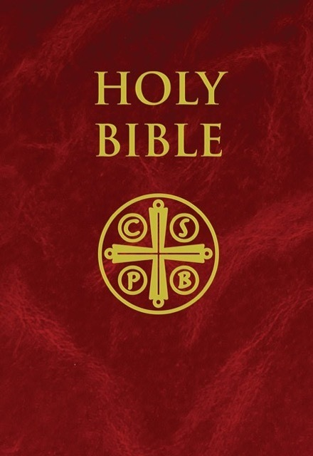 Holy Bible New American Bible Revised Edition  (Burgundy Hardcover) Holy Scripture (NABRE)