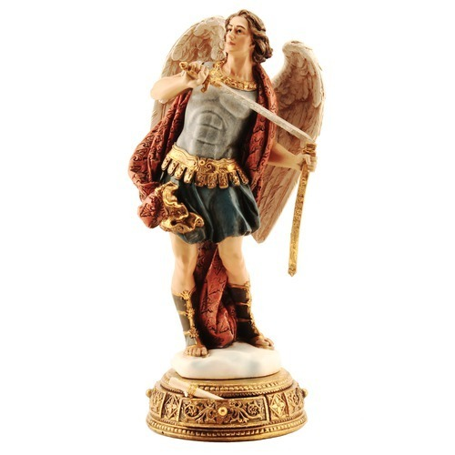 St. Michael Figurine 10.25""