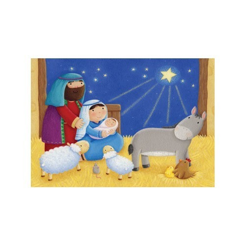 Baby in a Manger Advent Calendar