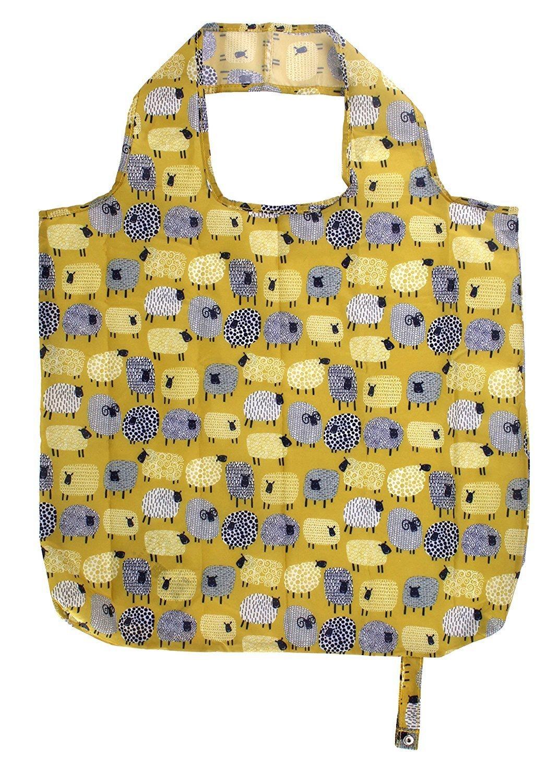 Dotty Sheep Packable Bag