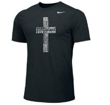 Black Cross shirt