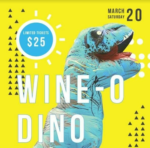 Wine-o-Dino Ticket (Acadia Resident / Wine Delivery)