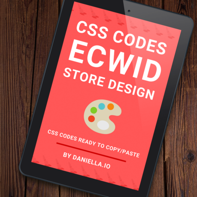 110+ Ecwid CSS Codes for Store Design