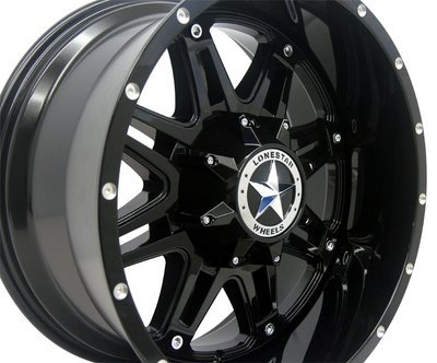 20x10 Gloss Black Outlaw Wheel, 8x170mm
