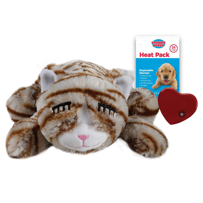 Snuggle Kitty - Tan Tiger
