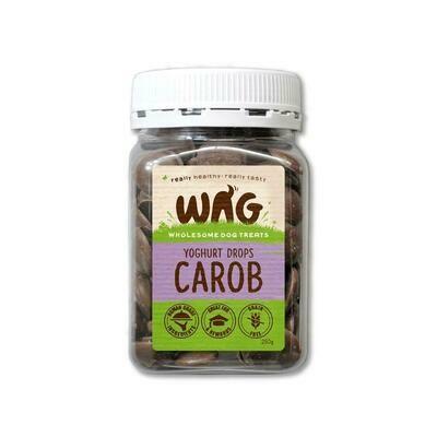 Carob Yoghurt Drops