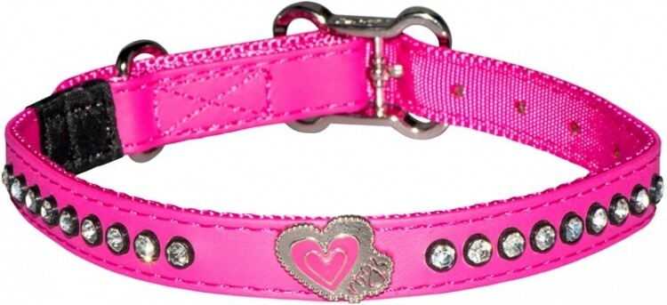 Rogz Luna Collar - Pink Paw Small