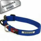 Standard Collar -small (Super-strong) - Stainless Steel. Adjustable.