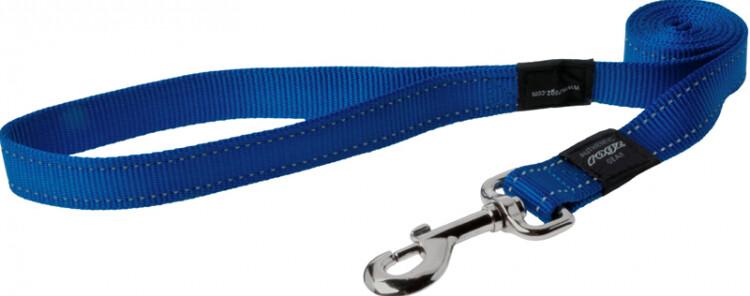 Rogz Utility Snake Medium Dog Lead Blue