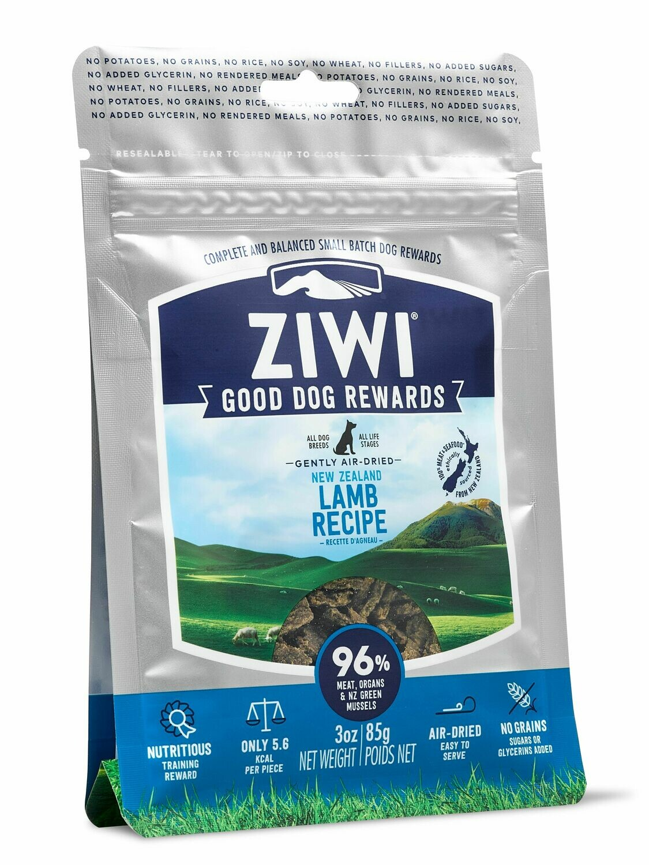 Ziwi Peak Good Dog Reward Pouches Lamb