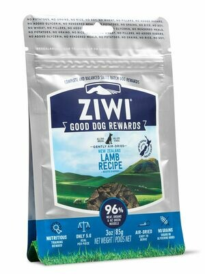 Ziwi Peak Good Dog Reward Pouches Lamb