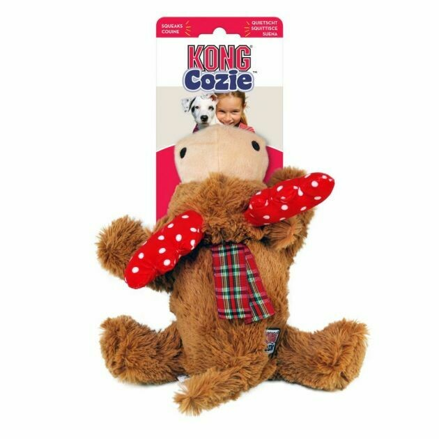 Kong Cozie Reindeer Dog Toy