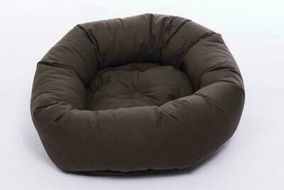 """DGS Donut Bed Small. 27"""" - Expresso"""
