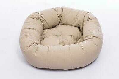 """DGS Donut Bed Small. 27"""" - Sand"""