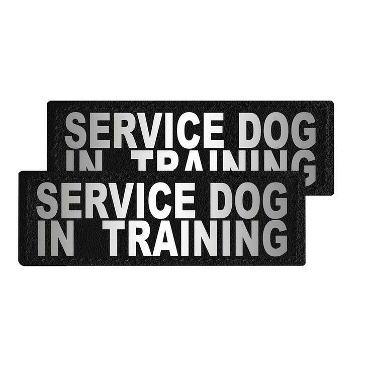 """Service Dog in Training"" Reflective Patch"