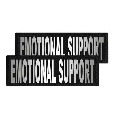 """""""Emotional Support"""" Reflective Patch"""