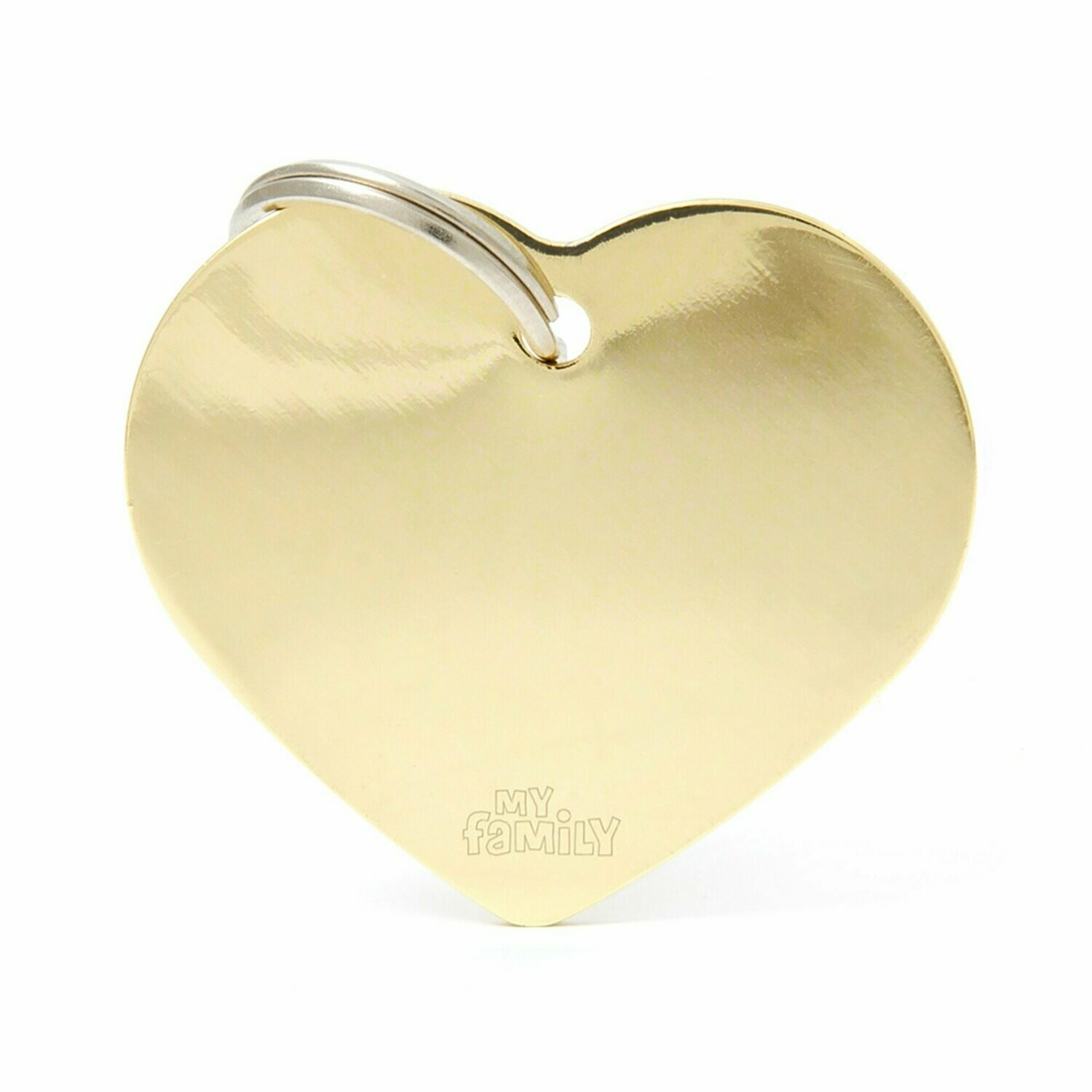 MF Basic Heart Gold Large.