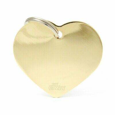 MF Basic Heart Gold Large.