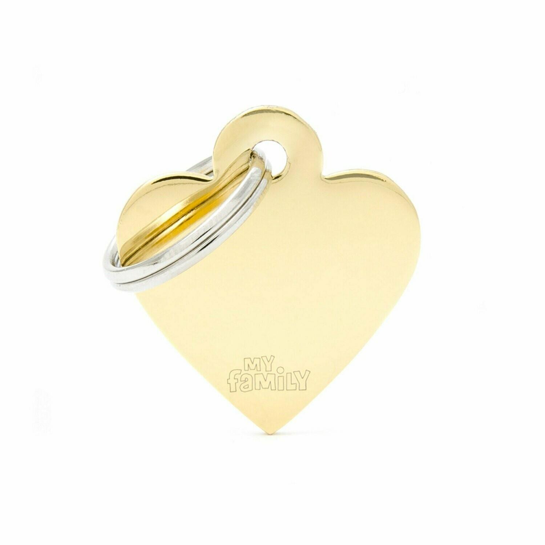 MF Basic Heart Gold Small