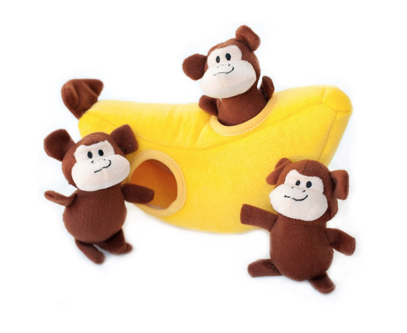 Zippy Paws - Burrow Monkey 'n Banana