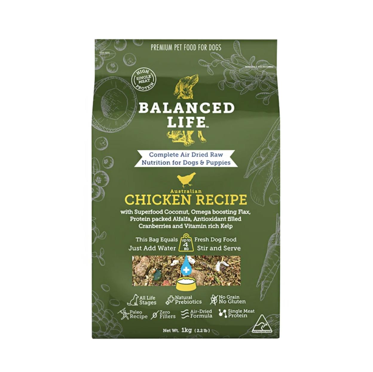 BALANCED LIFE DOG CHICKEN 3.5KG