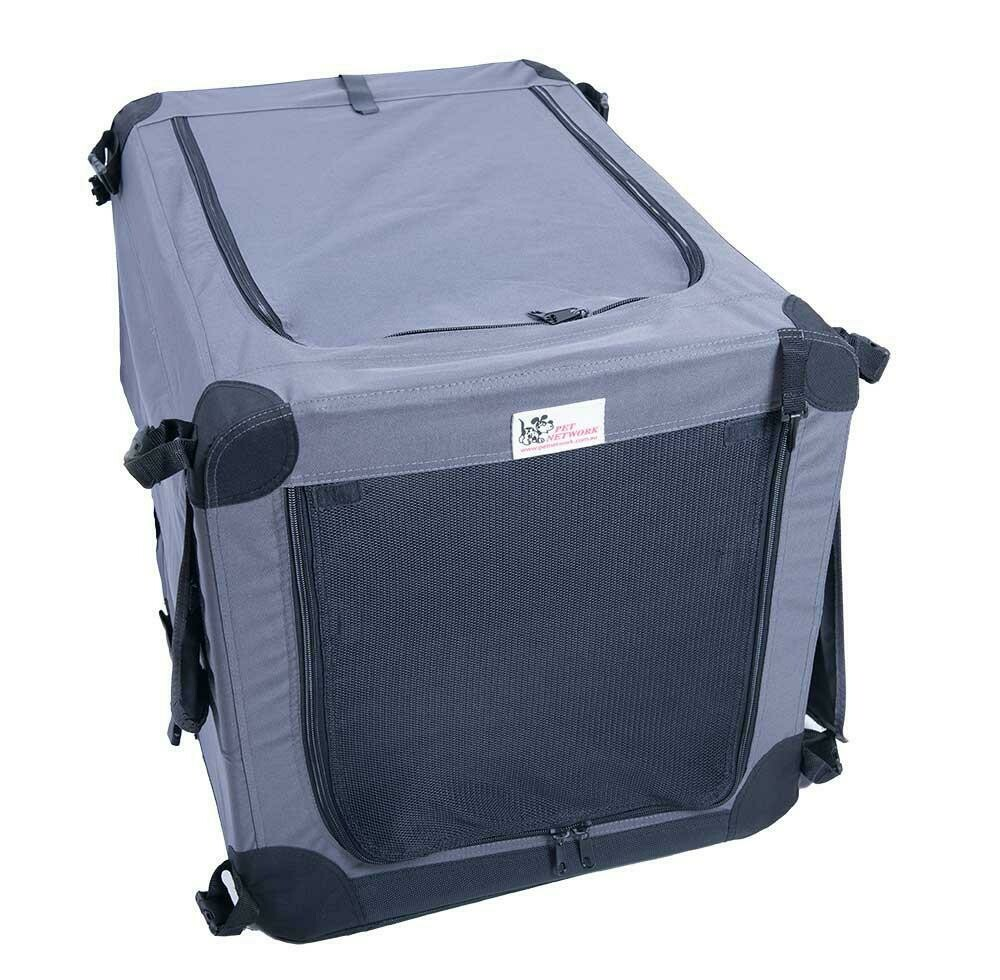 """Pet Network Soft Crate - Small. 32"""""""