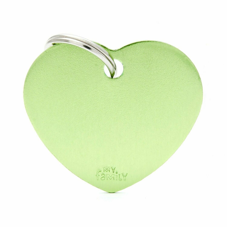 MF Basic Heart Lime Large.