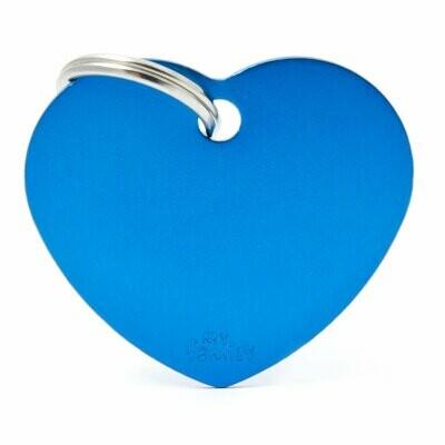 MF Basic Heart Blue Large.