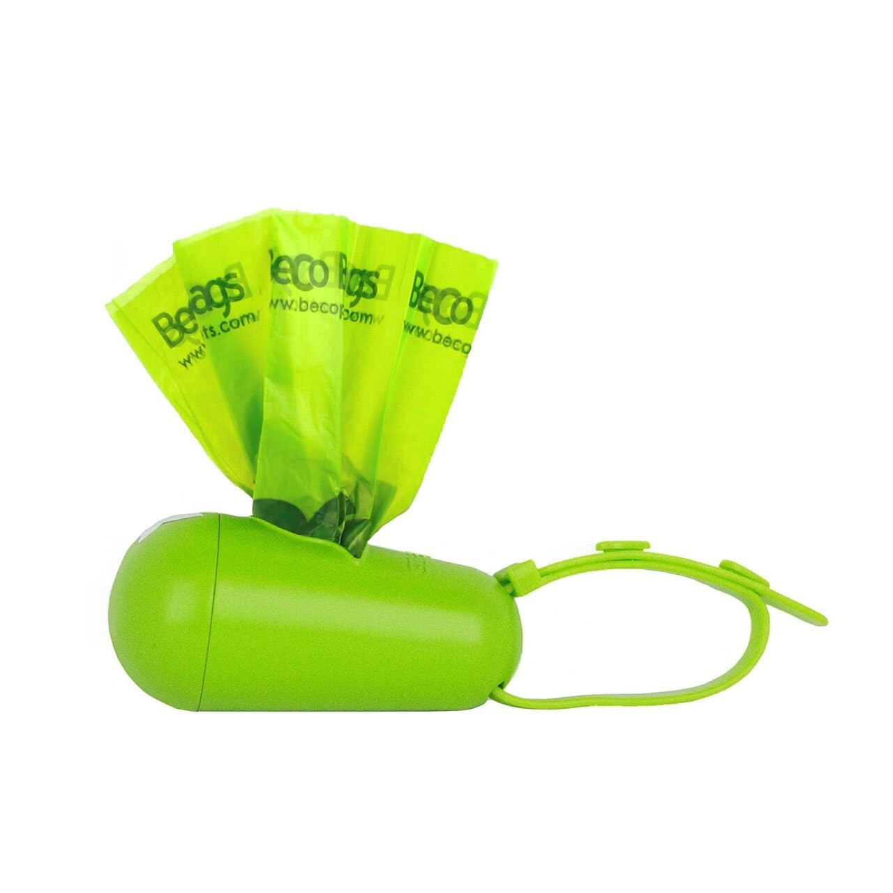 Beco Pod Poop Bag Dispenser With 15 Eco- Friendly Degradable Bags For Dogs