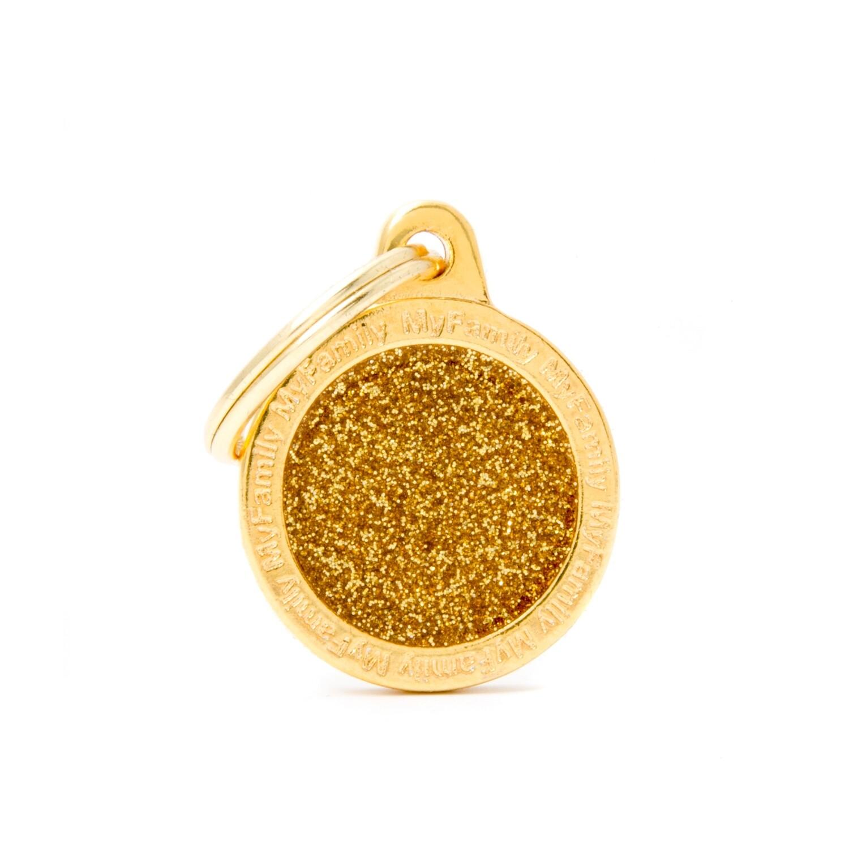 My Family Shine Circle Gold Small