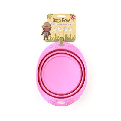 Collapsible Travel Bowl - Pink