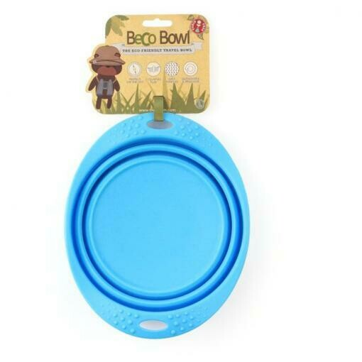 Collapsible Travel Bowl - Blue