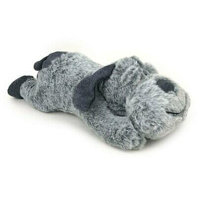 Snuggle Friend Plush Grey Dog Large