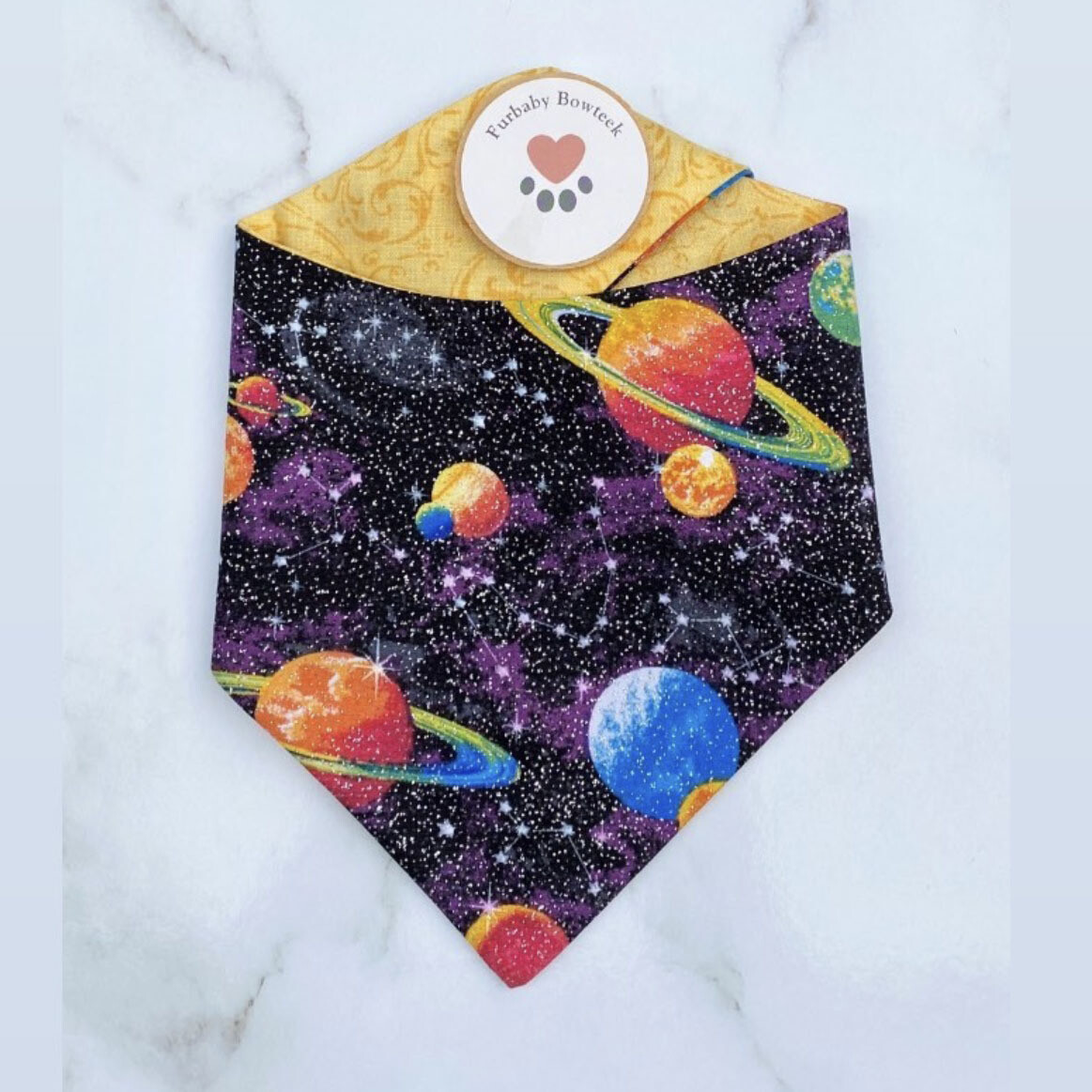 Furbaby Bowteek - Galaxy