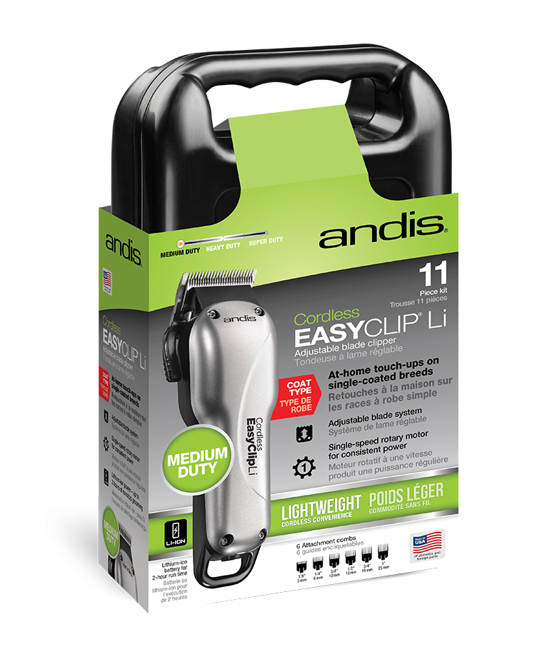 Andis  Easy Clip Cordless Dog Clippers LI KIT