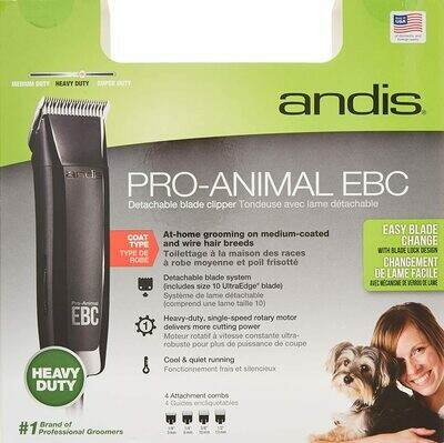 Pro-Animal EBC Detachable Blade Clipper KIT