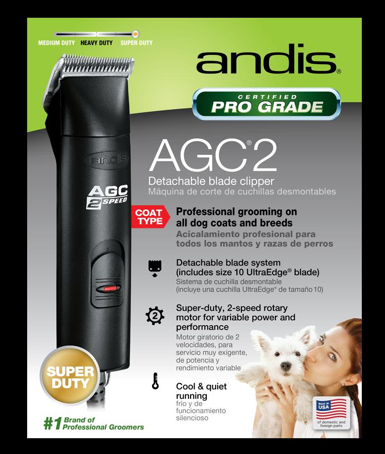 Andis Pro Clip AGC2 2-Speed Clipper