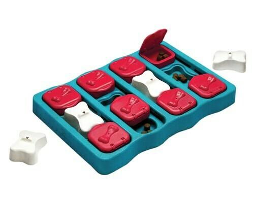 Interactive Treat Puzzle Toy, Nina Ottosson Dog Brick