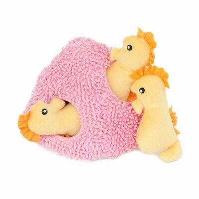 Zippy Burrow - Seahorse 'n Coral