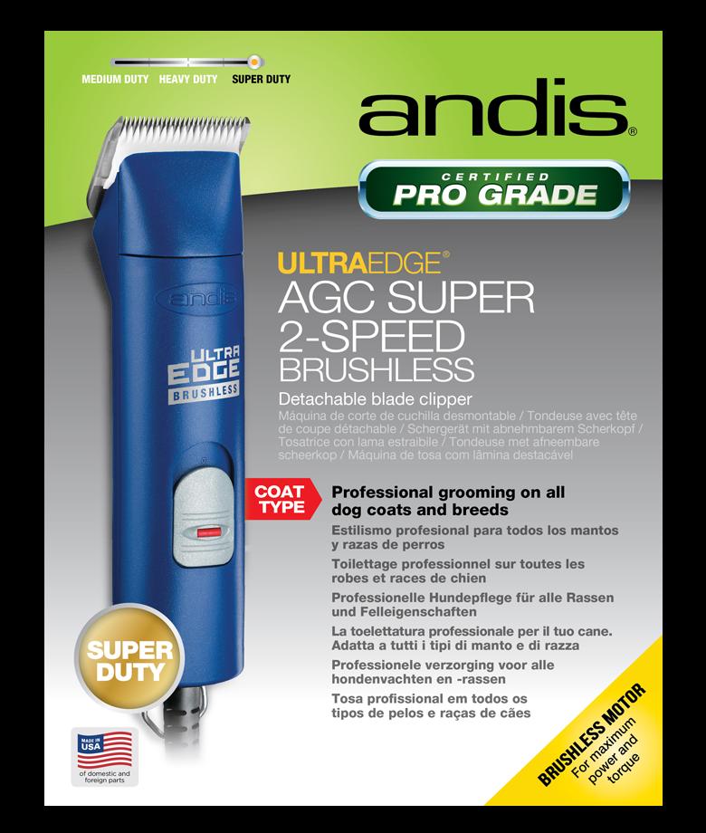 UltraEdge® AGC Super 2-Speed Brushless - Blue