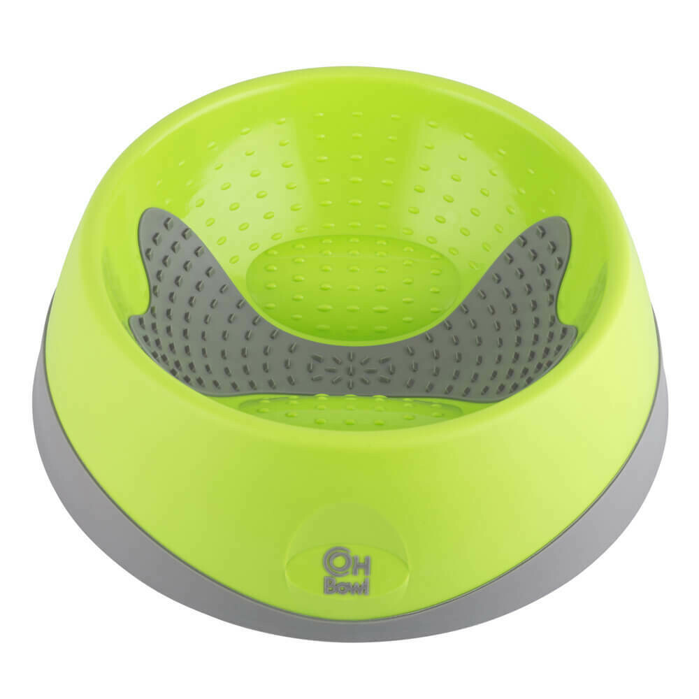 OH BOWL® FOR DOGS LARGE GREEN
