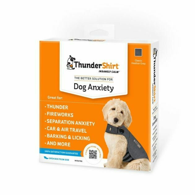 Thundershirt Dog Anxiety Jacket Grey