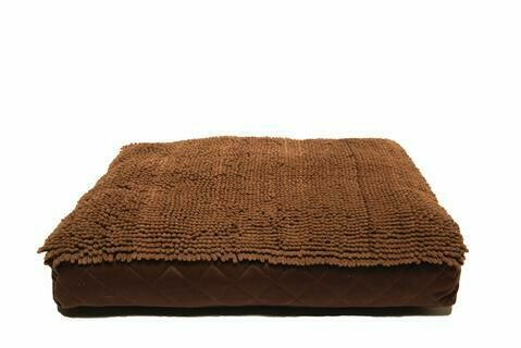 Dirty Dog Rectangle Bed.  Brown